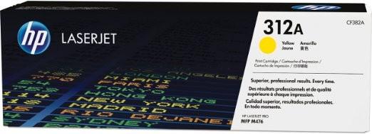 HP 312A CF382A Original Toner gelb Standardkapazität 2700 Seiten