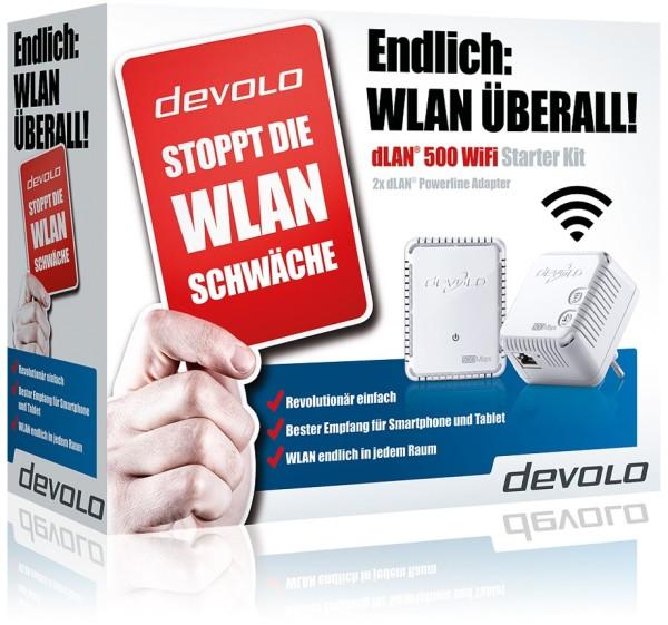 devolo Basic Wlan Starterset 500 WiFi