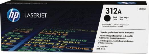 HP 312A CF380A Original Toner schwarz Standardkapazität 2.400 Seiten