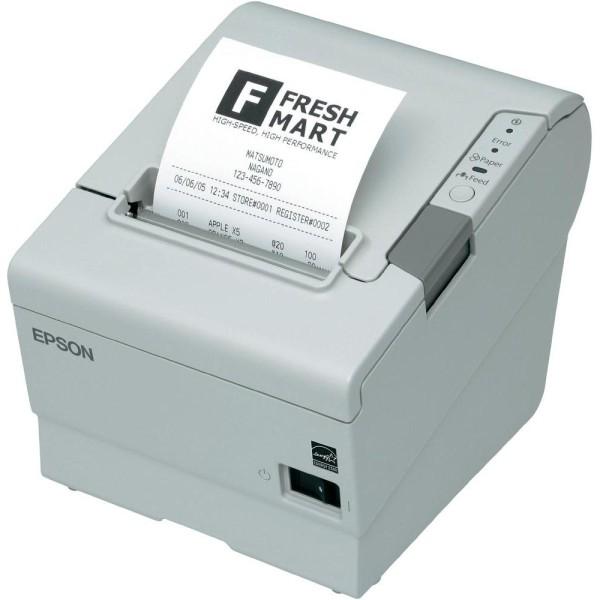 Epson TM-T88V, USB, WLAN, hellgrau