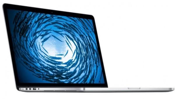 "Apple MacBook Pro 39.6cm Retina (15,4"") i7 2,2/16GB/256GBSSD/Silver"