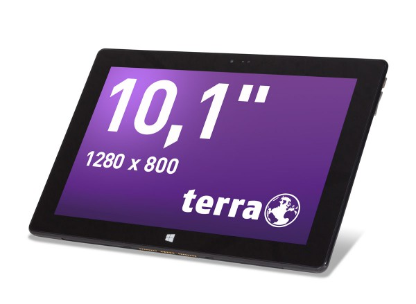 Terra Pad 1061 Windows 10 Home 10.1Zoll 32GB Flash-Speicher
