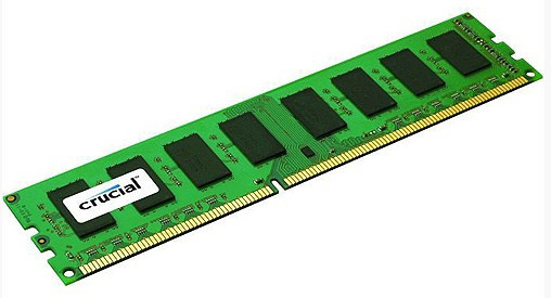 RAM DDR3 4GB / PC1600 /UB/ Crucial / Single