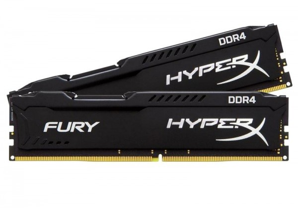 DDR4 16GB PC 2400 CL15 Kingston KIT (2x8GB) HyperX Fury retail HX424C15FB2K2/16