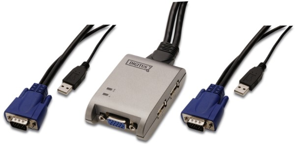KVM Switsch 2 Port USB Pocket