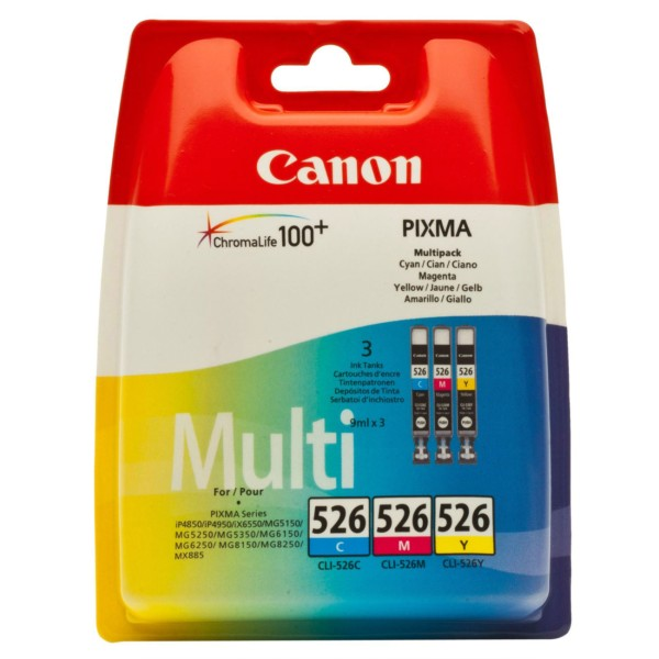 Canon CLI 526 C/M/Y Multipack