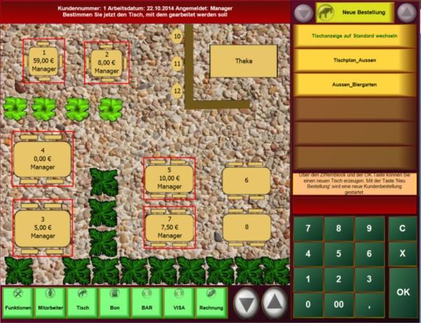 PosBill Kassensoftware für die Gastronomie (SW-Nutzungsvereinbarung)