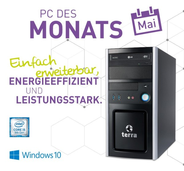 Home Office Business PC System mit Intel i5 CPU und 24 zoll Monitor