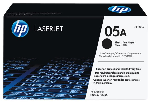 HP 05A Toner schwarz CE505A up to 2300 seiten