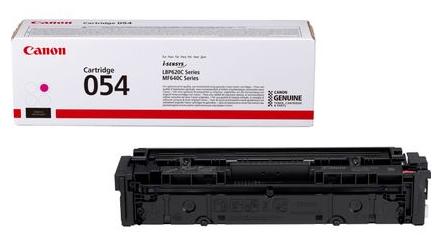 Canon 054 Toner-Cartridge, magenta bis zu 1200 Seiten