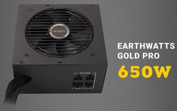 Antec EA 650G Pro EARTHWATTS (650W) 80+ Gold retail