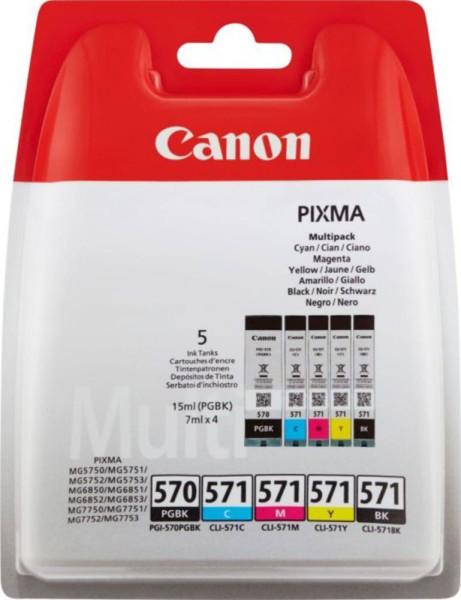 Multipack Canon CLI-571+570