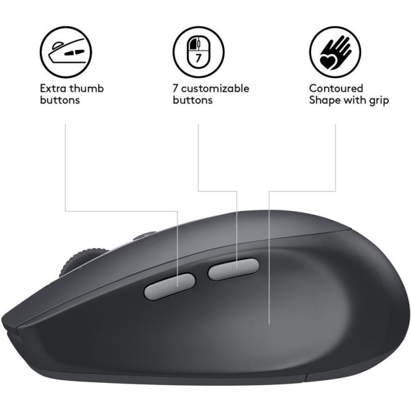 Logitech Wireless Mouse M590 Multi-Device Silent