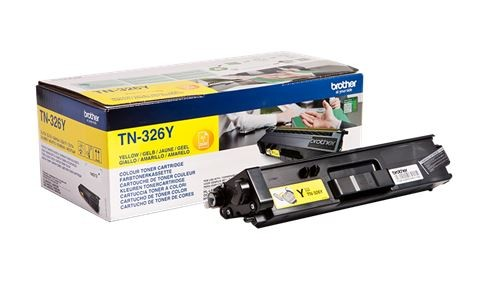 Brother TN-326Y Jumbo Toner Yellow