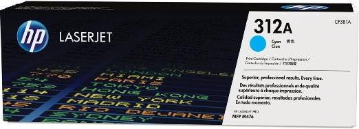 HP 312A CF381A Original Toner cyan Standardkapazität 2.700 Seiten