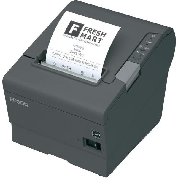 Epson TM-T88V, USB, WLAN, dunkelgrau
