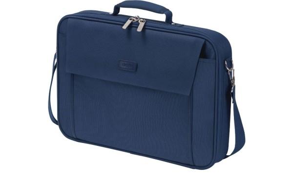 Notebooktasche Dicota 15.6 Zoll ca. 39.6 cm Trageriemen und Seitentasche blau