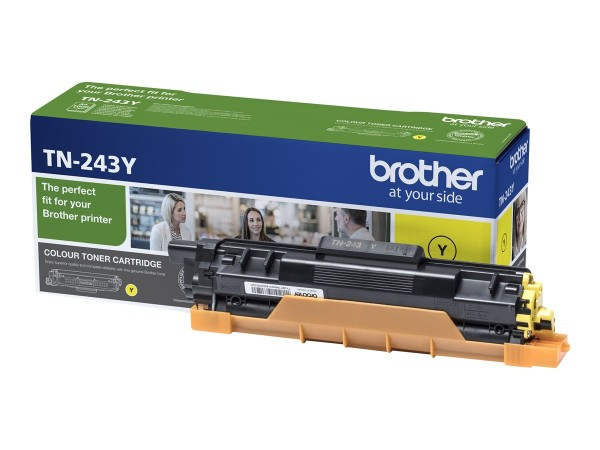 Brother Toner TN-243Y Yellow up to 1000 Seiten