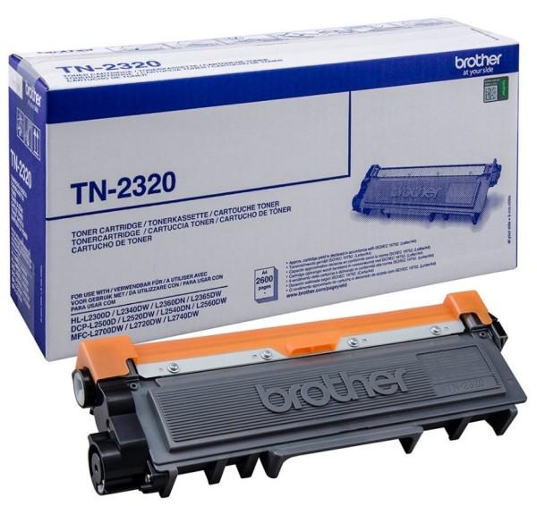 Brother TN-2320 schwarz Toner ca. 2600 Seiten
