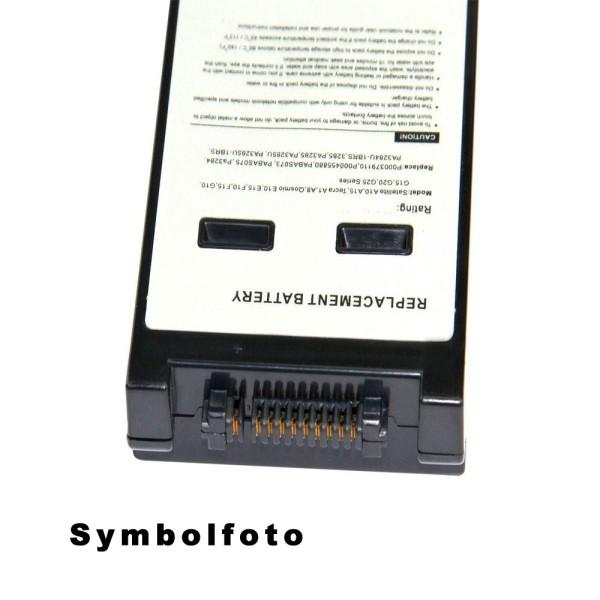 Notebookakku zu Toshiba Tecra A8 Modell