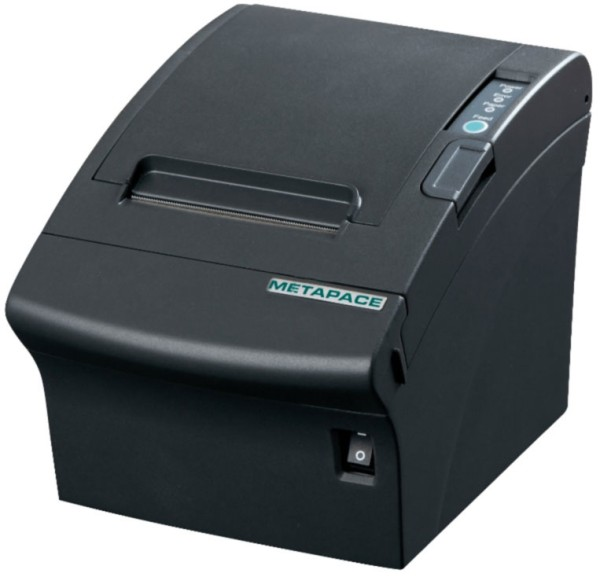 Metapace T-3 USB, Ethernet (LAN) Cutter schwarz Thermodrucker