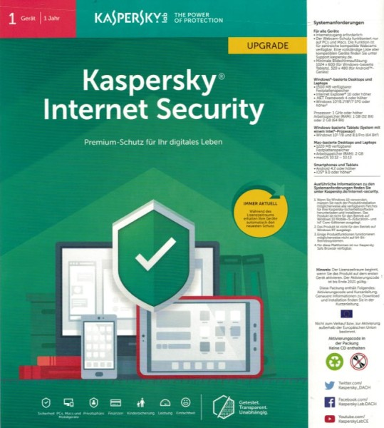 Kaspersky 2019 by Austcom.at