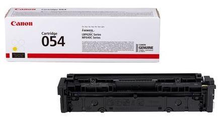 Canon 054 Toner-Cartridge, yellow bis zu 1200 Seiten