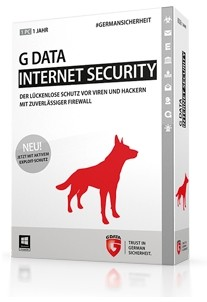 G Data InternetSecurity 2018, 1 User, 1 Jahr, ESD, Download Software, Win, Deutsch