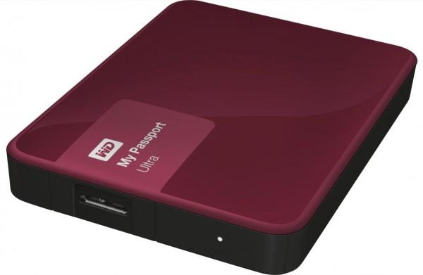 Western Digital My Passport Ultra 1TB USB 3.0 Wildkirsche WDBGPU0010BBY