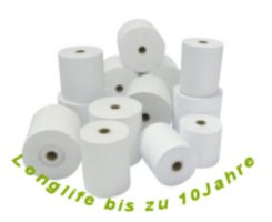 Bonrolle, Longlife Thermopapier, 80mm x 76mm x 80m x 12mm Epson-Zertifiziert