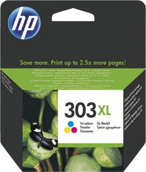T6N03AE HP 303 Color XL Mehrfarbig