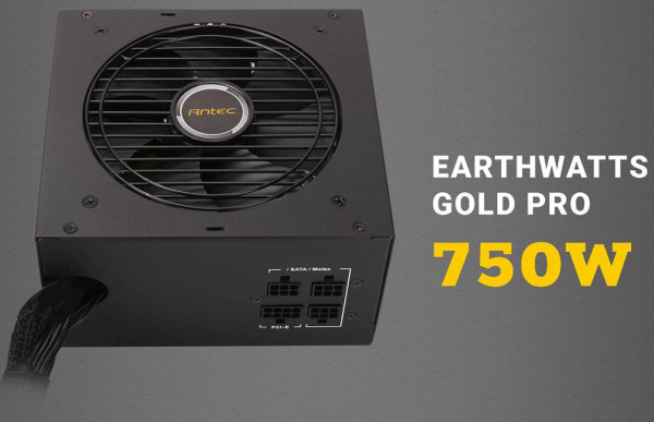 Antec EA 750G Pro EARTHWATTS (750W) 80+ Gold retail