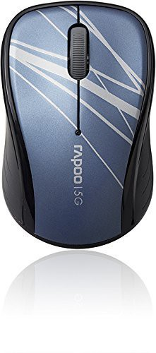 Rapoo Wireless Optical Mouse 3100p blau, USB