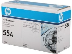 HP CE255A HP LJ Cartridge Nr.55A black 6K CE255A