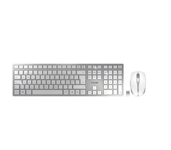 Cherry Desktop DW 9000 deutsches Layout SLIM Wlan AES und Bluetooth white