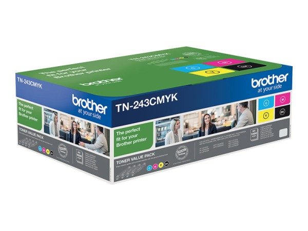 Brother Multipack TN243CMYBK by austcom.at