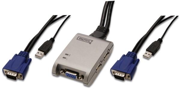 KVM Switsch 2 Port USB Pocket