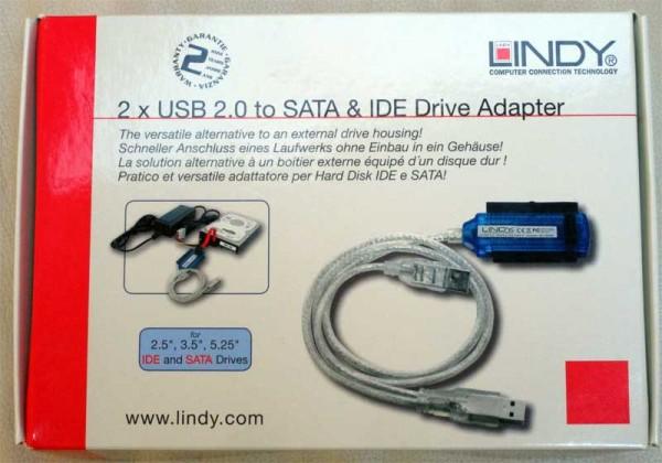 Adapter für SATA und IDE extern USB