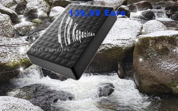 Seagate 6.3cm 4TB USB3.0 Expansion Portable schwarz STEA4000400